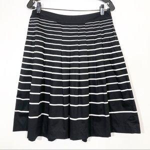 Talbots | Striped Midi Skirt